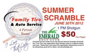 Summer Scramble Golf Tournament