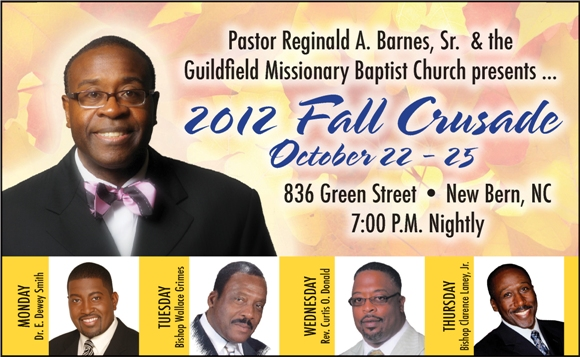 2012 Fall Crusade News And Information In New Bern Nc