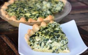Spinach Artichoke Tart