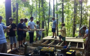 Eagle Scouts Volunteer