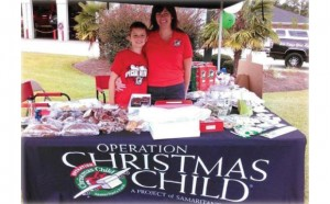 Photo taken from: TBC Operation Christmas Child's Facebook page