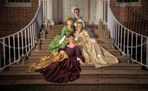 Four Seasons on Palace Steps