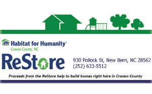 Habitat for Humanity of Craven County Restore