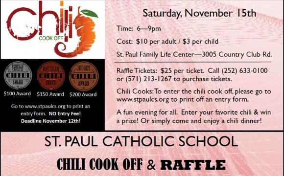 St Paul Chili Cook Off