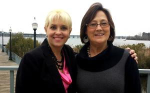 Daphne Sherring and Lynn Davenport