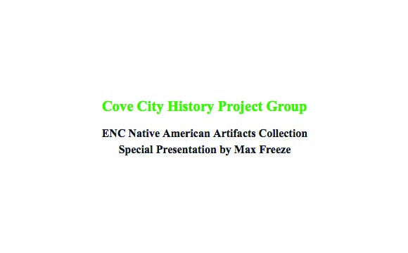 Cove City History Project Group