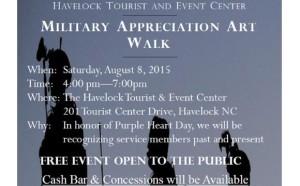 Military Appreciation Art Walk
