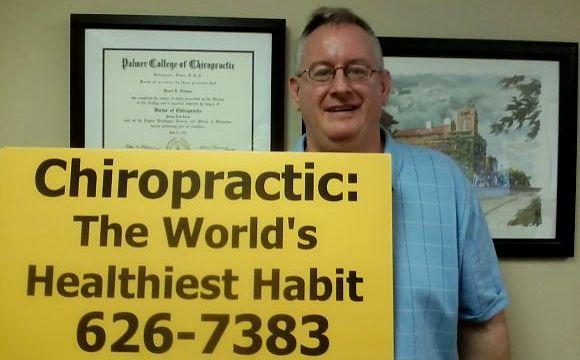 Chiropractor Darrel Eichman