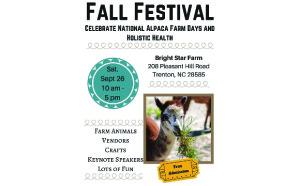 Fall Festival at Bright Star Farm