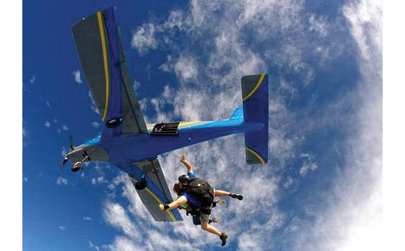 Beth Fairchild Skydiving