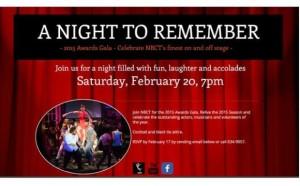 New Bern Civic Theatre Gala