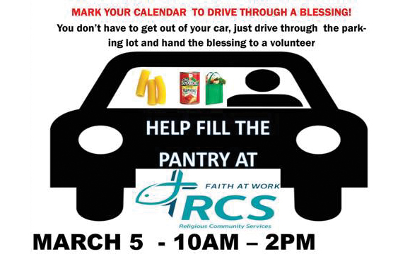 Help Fill RCS Food Pantry