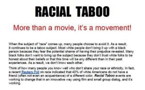 Racial Taboo