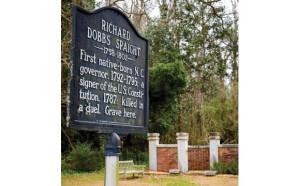 Richard Dobbs Spaight Grave Marker
