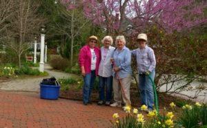 Historical Society Garden Volunteers