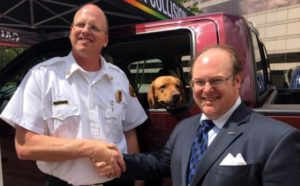 New Bern Police K9 Vehicle Donation