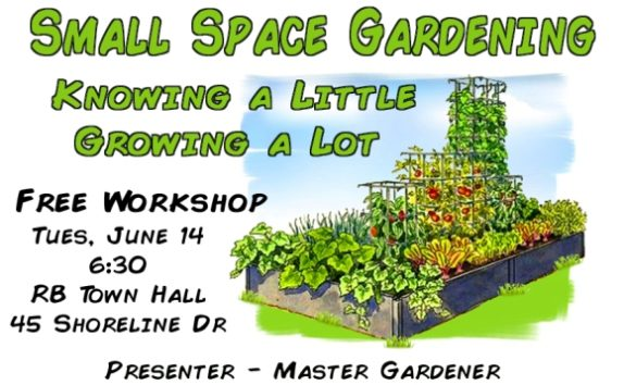 Small Space Gardening Workshop