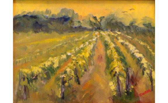 Artist Eileen Wroe