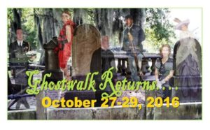 Ghostwalk Auditions 2016