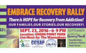 Embrace Recovery Rally