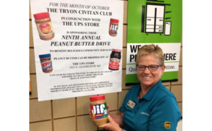 9th Peanut Butter Drive for RCS