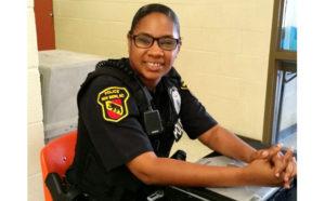 New Bern Police Office Sharice Garrard