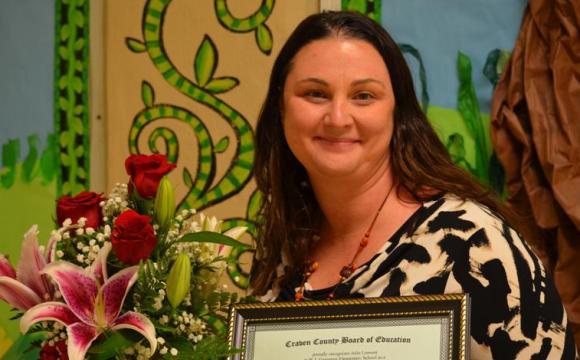 Teacher Julie Lomont