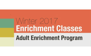 Winter Adult Enrichment Classes