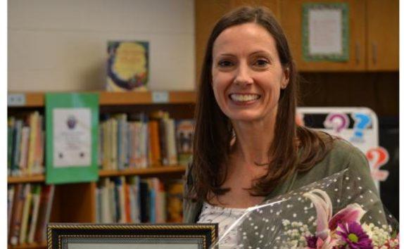 Teacher Melda McCoy