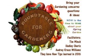Roundtable for Gardeners