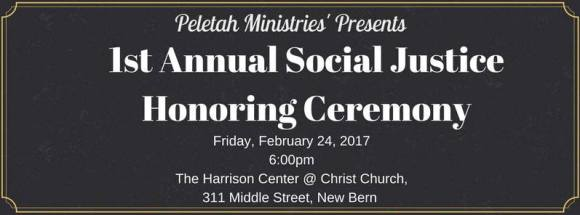 Social Justice Honoring Ceremony