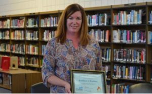 Teacher Barbara McCurdy