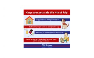 Pet Safety 4th of July