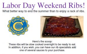 New Bern Civitan Club Fundraiser