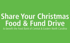 Share Your Christmas Food and Fund Drive