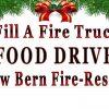 Fill a Fire Truck Food Drive