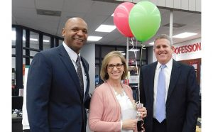 Edward Jones Teacher Recognition Award - Sandra Parker