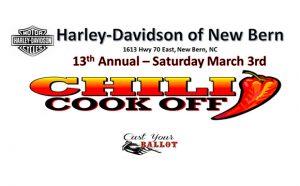 Harley Davidson New Bern Chili Cook Off