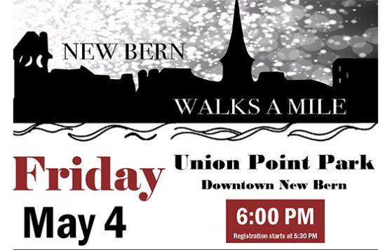 New Bern Walks A Mile