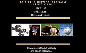 True Justice International Sports Camp