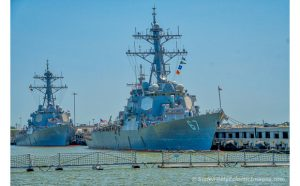 USS Cole (DDG-67) and USS Rampage (DDG-61)