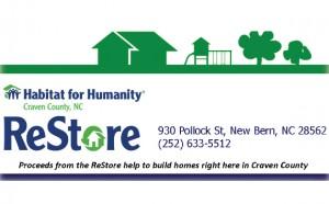 Habitat for Humanity of Craven County Restore
