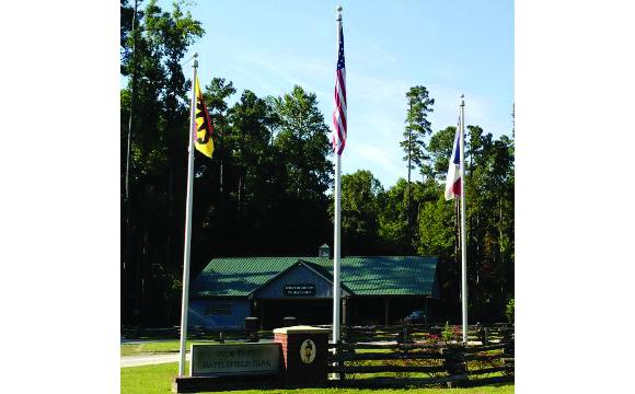 Entrance to New Bern Battlefield Park