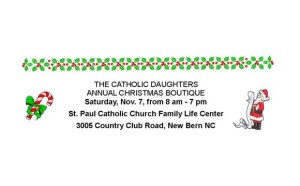 Catholic Daughters Annual Christmas Boutique