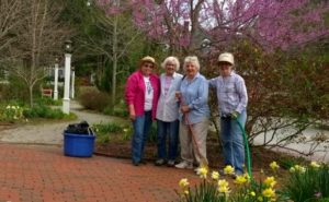 Historical Society Garden Volunteers