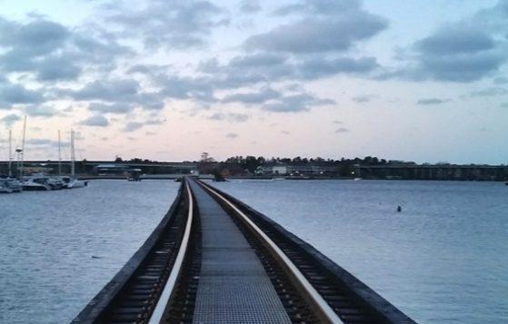 Trent River Railroad Bridge, New Bern, NC