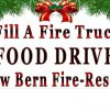 Fill a Fire Truck Food Drive