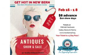 New Bern Antiques Show and Sale 2018