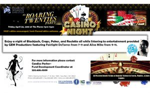 Roaring Twenties Casino Night
