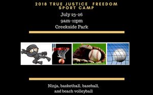 True Justice International Sports Camp